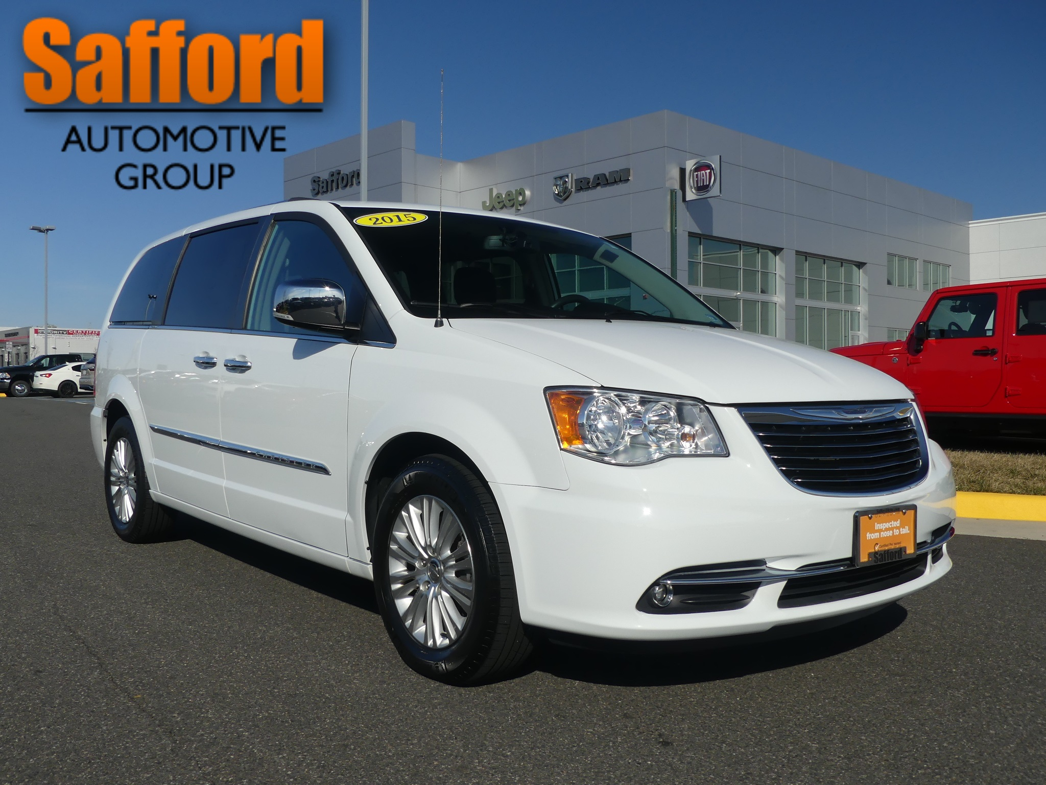 Certified Pre-Owned 2015 Chrysler Town & Country Limited