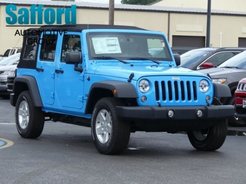 New 2018 JEEP Wrangler JK Unlimited Sport S